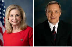 Rep. Carolyn B. Maloney and Sen Dick Durbin
